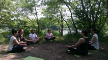 Hiking Yoga Meditation