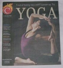 Cover of Caliente from Front Page of Arizona Star