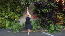 Garudasana in Manoa, Hawai`i